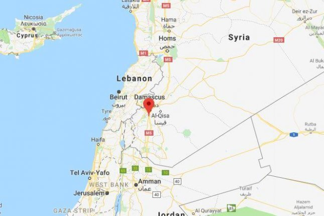 Israeli aircraft reportedly attack Iranian military base near Damascus