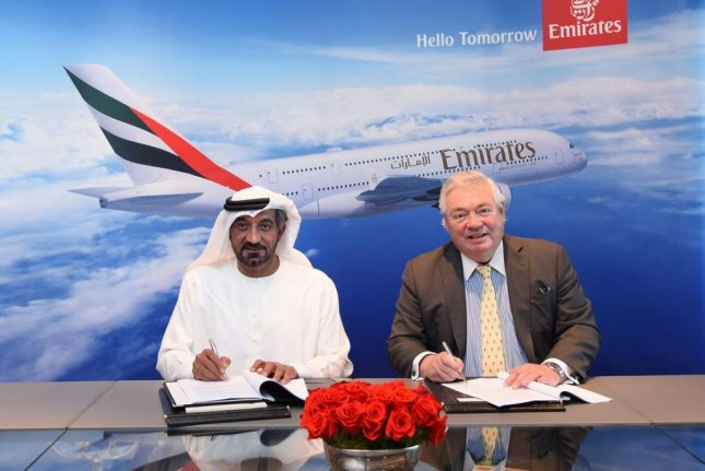 Dubai's Emirates announces agreement for 36 Airbus A380s