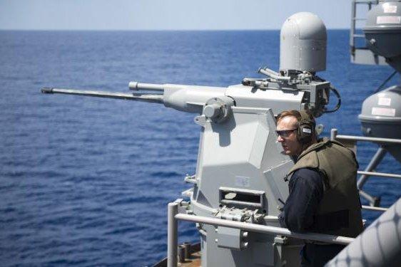 Navy, Coast Guard tap BAE for Mk 38 machine guns
