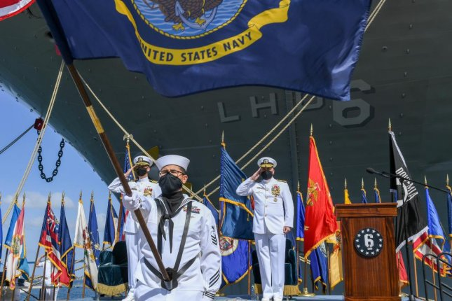 The USS Bonhomme Richard was formally decommissioned Wednesday. Photo courtesy U.S. Navy