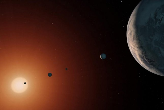 TRAPPIST-1 twice as old as our solar system