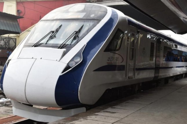 One day after India's fastest train was inaugurated, the Vande Bharat Express broke down on its first trip back to New Delihi, the capital, on Friday. Photo courtesy Ministry of Railways/Twitter