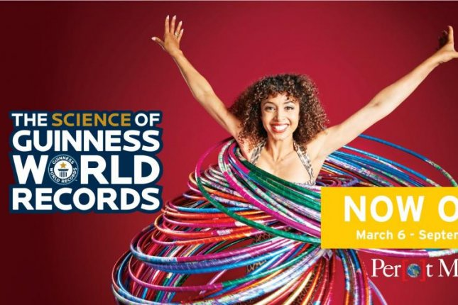 The Science of Guinness World Records, an exhibition open now at the Perot Museum in Dallas, invites guests to attempt their own world records for feats including most punches delivered in 1 minute. Photo courtesy of thePerot Museum of Nature and Science