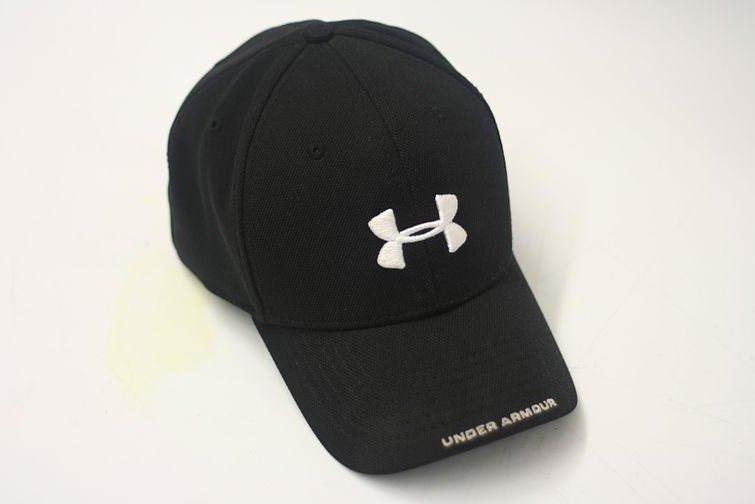An Under Armour brand hat. (CC/Tyler Dziarmaga)