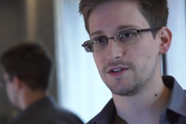 Journalist from the Washington Post and the Guardian U.S. were awarded the pulitzer prize for their coverage of NSA documents leaked by Edward Snowden. Snowden, pictured here, was not awarded a prize. (Freedom of the Press Foundation/YouTube)
