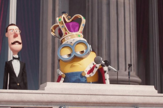 Google's aborted April Fools' prank added a mic-dropping minion to some sent emails. Photo courtesy of Google