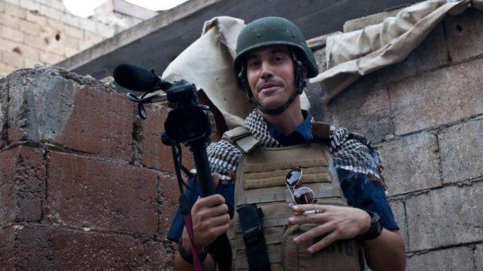 Foley in Aleppo in November. (Photo courtesy Foley family/Nicole Tung)