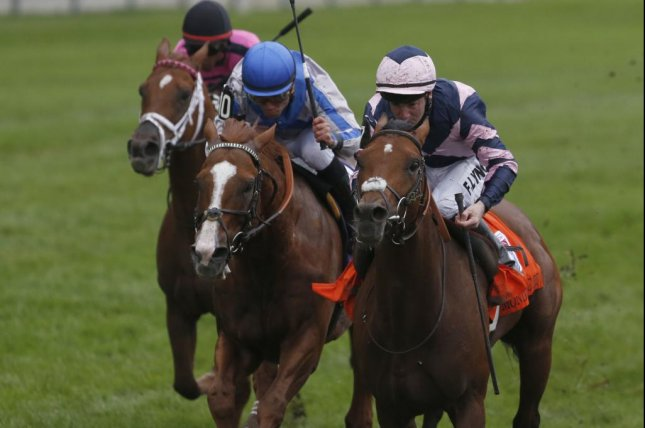 Mondialiste invades from England to win the $1 million Ricoh Woodbine Mile Sept. 13. (Woodbine photo)