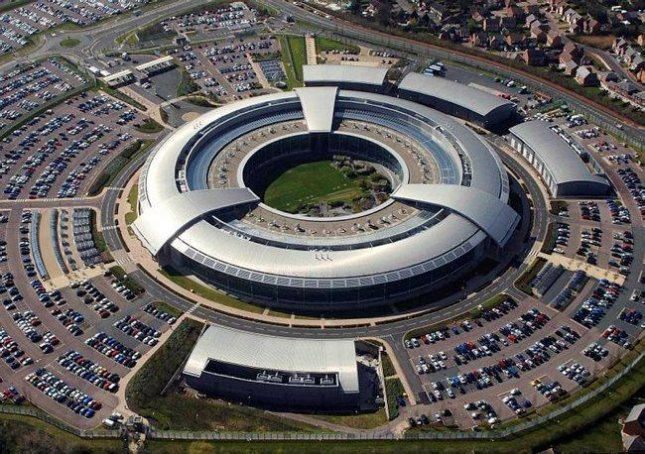 GCHQ (Government Communications Headquarters) in Cheltenham, England. A major review of surveillance in Britain, released Thursday, concludes new legislation on monitoring online communications is required. Photo courtesy of U.K. Ministry of Defense.