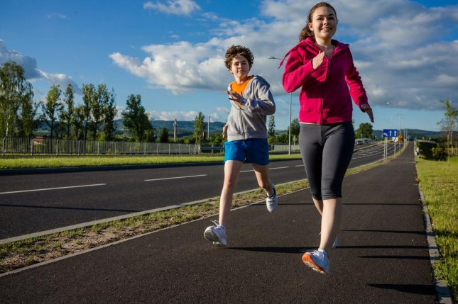 Short bursts of intense exercise for 8 to 10 minutes were shown to have the same effects on markers for cardiovascular disease as the recommended 60 minutes of physical activity per day. Photo by Jacek Chabraszewski/Shutterstock