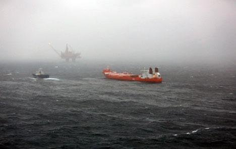 Statoil reports oil spill in North Sea, though it's too early to issue an estimate on volume. Photo courtesy of Statoil.