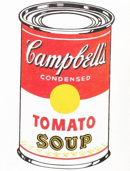 Seven panels of Andy Warhol's screenprint series Campbell's Soup I were stolen last week from the Springfield, Mo., Art Gallery. Photo courtesy of FBI