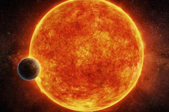 An artist's impression of the newly discovered exoplanet, LHS 1140b. Photo by M. Weiss/CfA