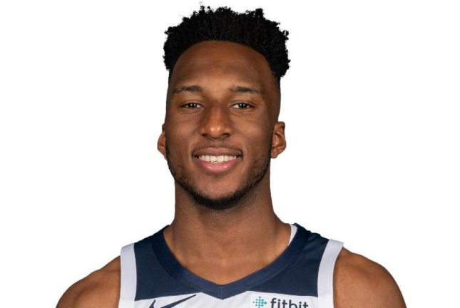 Minnesota Timberwolves rookie Josh Okogie scored six points on Sunday against the Portland Trail Blazers. Photo courtesy of the NBA