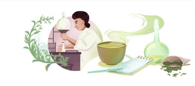 Google is paying homage to educator and biochemist Michiyo Tsujimura with a new Doodle. Image courtesy of Google