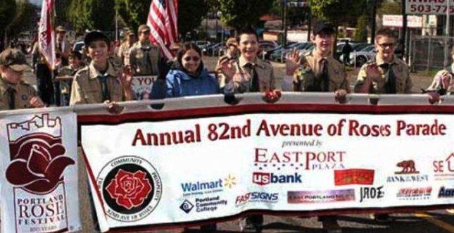 The 82nd Avenue of Roses parade, scheduled for Saturday in Portland, Ore., was canceled after an email threatened violence if marchers from the local Republican Party were not barred from participating. Photo courtesy of 82nd Avenue of Roses Business Association
