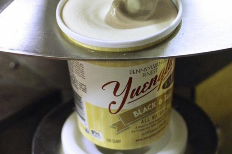 Yuengling Black and Tan ice cream. (Via Facebook/Yuengling)