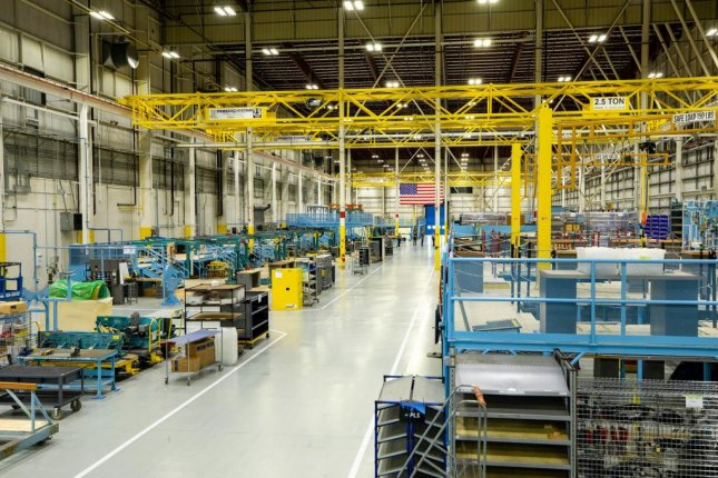 The U.S. Air Force has teamed with Lockheed Martin to open a new production line to build the F-16 Block 70/72 fighter aircraft in Greenville, S.C. Photo courtesy of Lockheed Martin