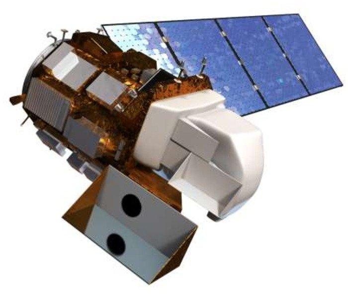 Landsat 8. Credit: USGS