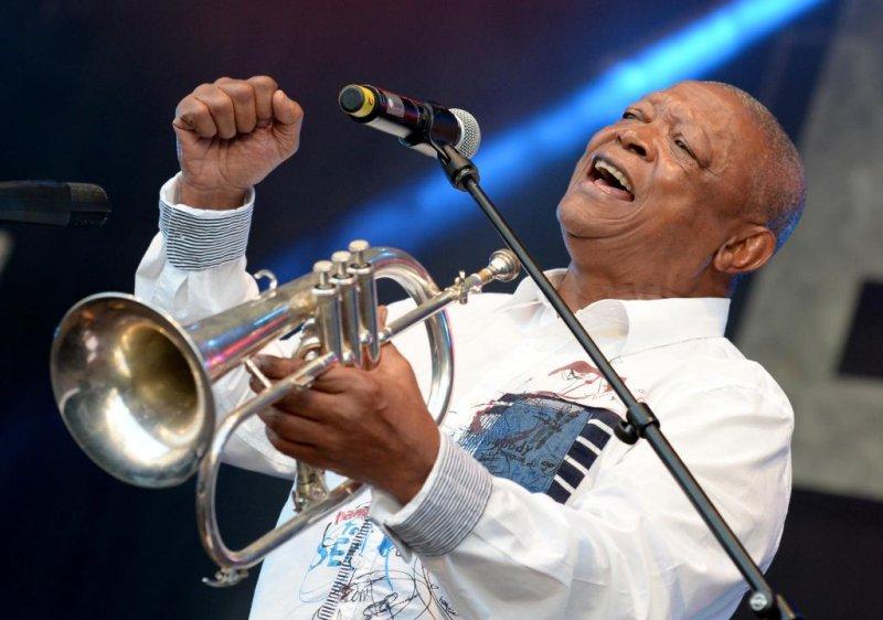 IMG HUGH MASEKELA, South African Jazz Legend