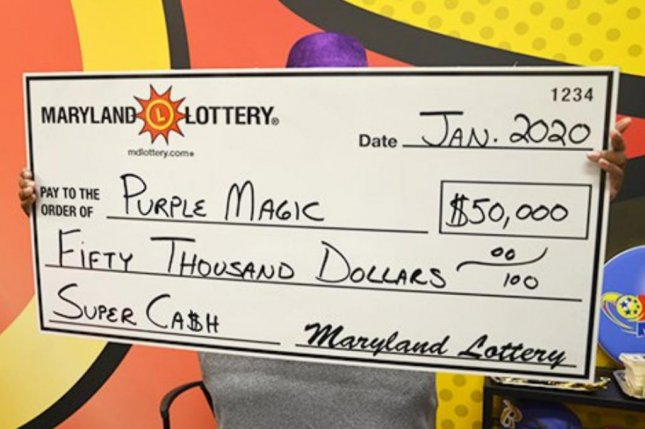 A Maryland woman scored a $50,000 jackpot from a scratch-off lottery ticket about five years after collecting a $10,000 prize. Photo courtesy of the Maryland Lottery
