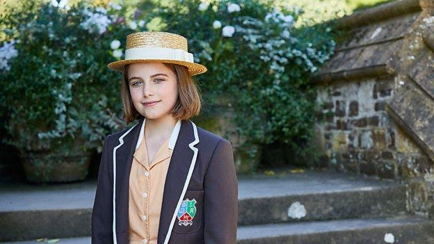 Ella Bright's new drama Malory Towers is to debut on April 6. Photo courtesy of CBBC