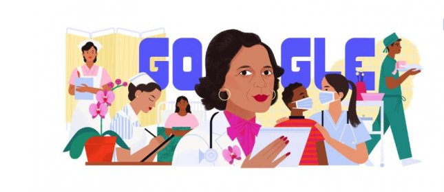 Google is paying homage to Dr. Ildaura Murillo-Rohde who created the National Association of Hispanic Nurses with a new Doodle. Image courtesy of Google
