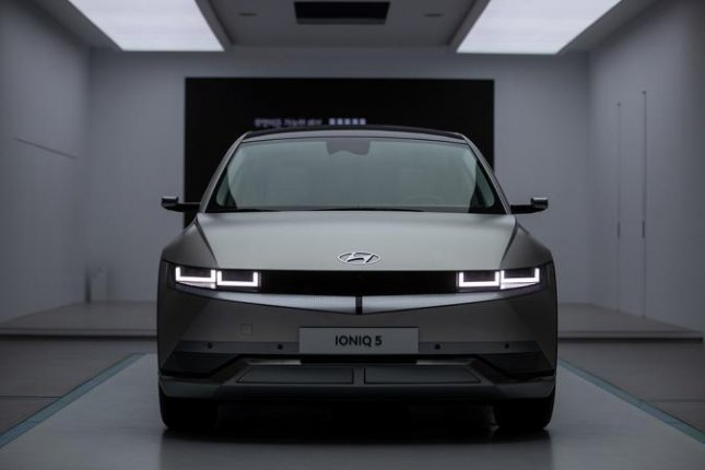 Customers have complained that Hyundai's Ioniq 5, which debuted earlier this year, had engine coolant leaks. UPI News Korea File Photo