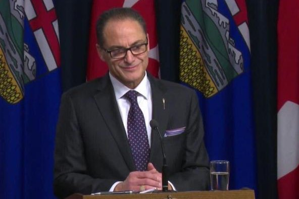 Alberta Finance Minister Joe Ceci says the oil-rich economy should return to growth at some point this year. Photo by the provincial government of Alberta.