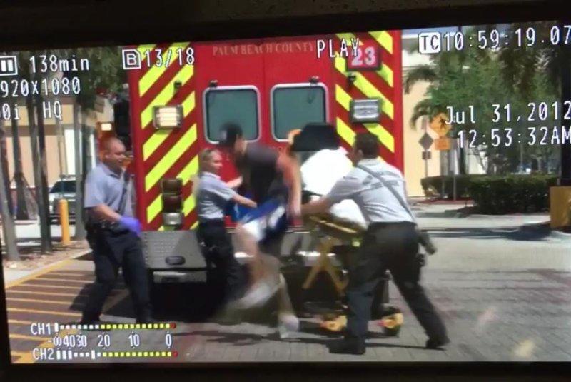 watch heroin overdose suspect escapes ambulance. Black Bedroom Furniture Sets. Home Design Ideas
