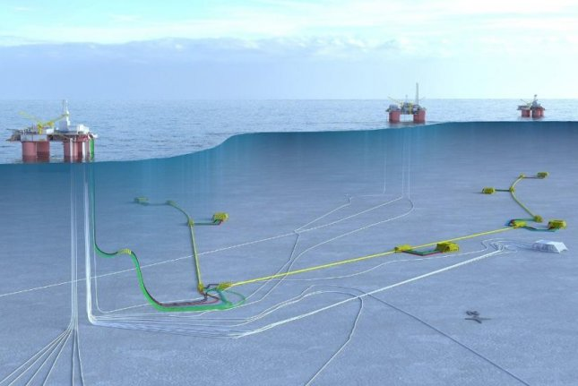 Norwegian oil and gas major Statoil submits plans to enhance the oil recovery from the Snorre field in the North Sea. Image courtesy of Statoil.