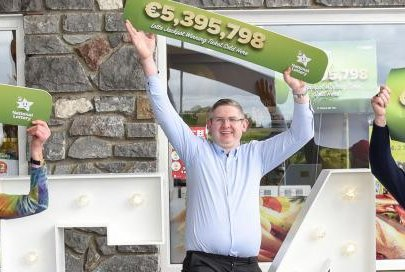 A Kilkenny, Ireland, family won a $6.4 million jackpot from the National Lottery's Lotto drawing after 25 years of playing the same set of numbers. Photo courtesy of the National Lottery