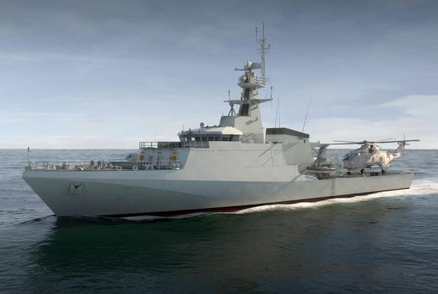 Britain's new offshore patrol vessel Image: BAE systems.