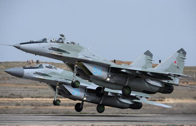 Russia is donating MiG-29 jet fighters to Serbia, the Russian news service Tass reported. Photo by Russian air force.