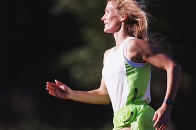 A new study suggests that running even extreme distances won't damage the heart. Photo courtesy of HealthDay News