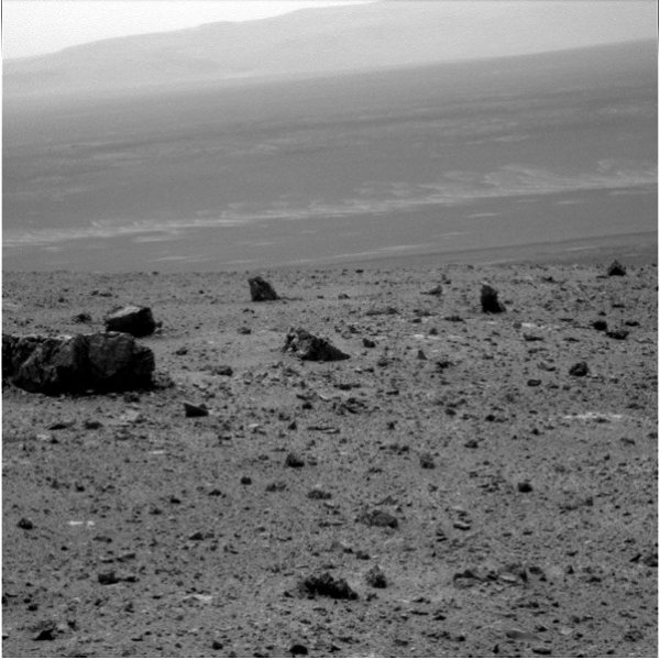 One of the new images from the Opportunity Rover, courtesy of NASA.