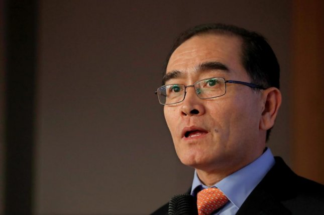 Radical activists in South Korea have sent threatening emails to high-profile defector Thae Yong-ho. File Photo by Jeon Heon-kyun