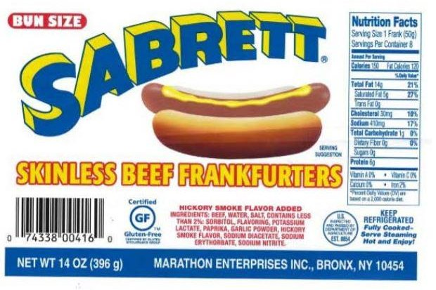 Millions of pounds of hot dogs recalled in US