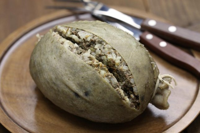 Scottish company Macsween has created the world's most expensive haggis containing Wagyu beef, white truffle, tellicherry black pepper and edible 24-karat gold.  Photo by bonchan/Shutterstock