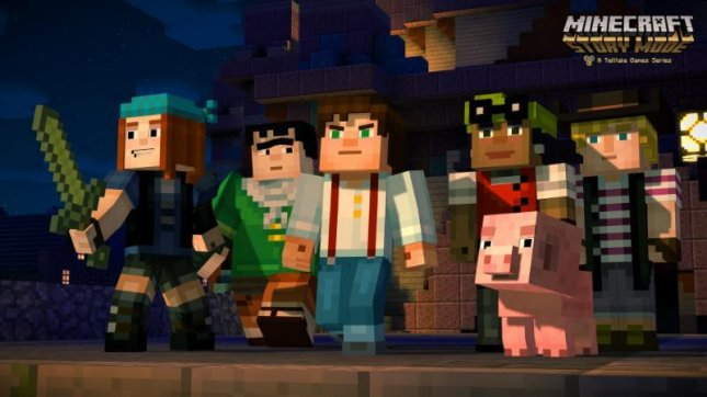 Minecraft: Story Mode image, courtesy of Telltale Games and Mojang.