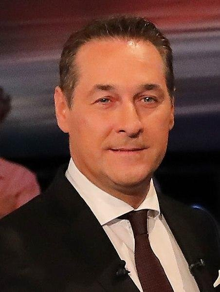 Heinz-Christian Strache resigned Saturday as vice chancellor of Austria after a corruption scandal surfaced on a leaked video. Photo courtesy Social Democratic Party Press and Communication/Flickr