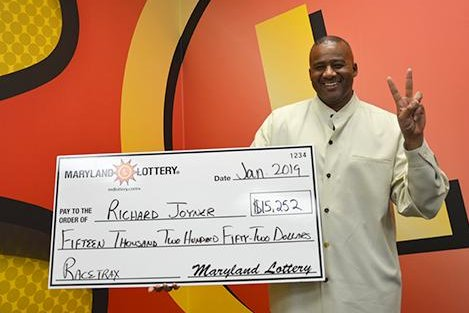 A Maryland man said his second major lottery jackpot was won using numbers that came to him in a dream. Photo courtesy of the Maryland Lottery