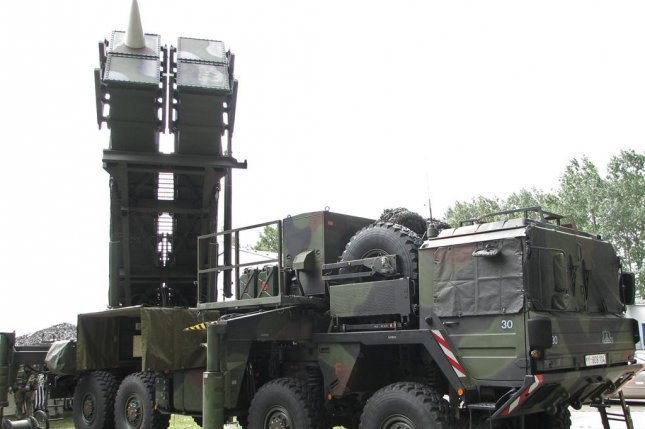Germany has used the Patriot missile system for several years, including this one, pictured in 2005. Photo by Darkone/Wikimedia Commons