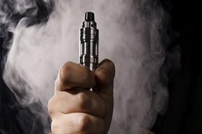 Health care providers caring for patients who've had seizures should ask them about e-cigarette use, experts say.Photo courtesy of HealthDay News