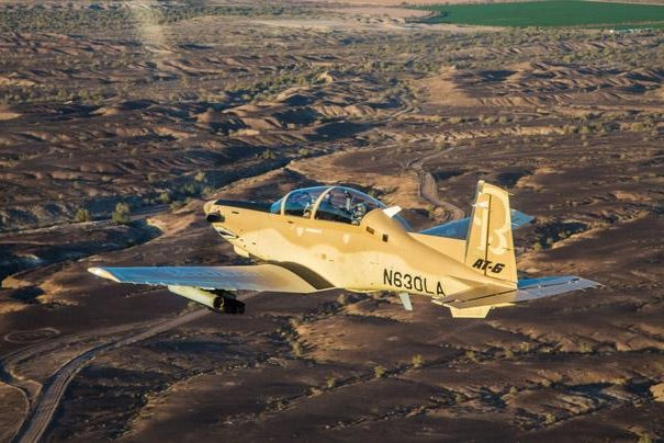 The State Department has approved a possible sale of four AT-6C Wolverine Light Attack Aircraft to Tunisia. Photo courtesy of Textron Aviation