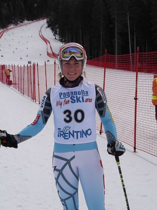 Mikaela Shiffrin in 2012 (Courtesy Wikipedia)