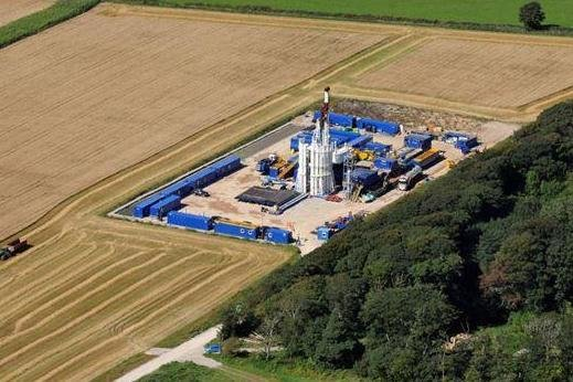 British government proposes pulling some parts of the country off the table for hydraulic fracturing. Photo courtesy of Cuadrilla Resources.