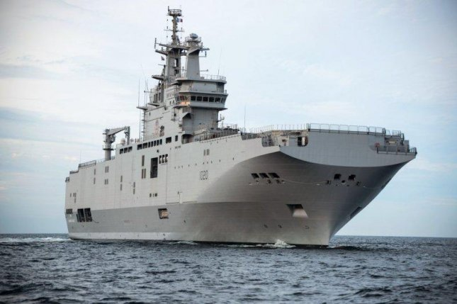 The Anwar El Sadat, a mistral-class Landing Helicopter Dock, delivered ti the Egyptian Navy by DCNS. Photo courtesy DCNS
