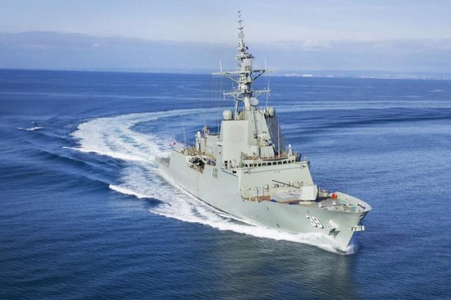 The Hobart, a future air warfare destroyer for Australia, passed initial builder sea trials and is scheduled for more advanced trials early next year. Photo courtesy Air Warfare Destroyer Alliance