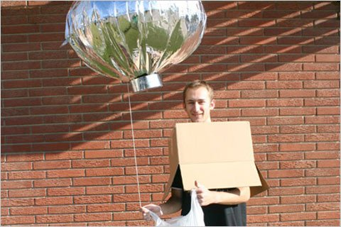 Just days after the Heene family balloon drama was exposed as a hoax, this Halloween costume was for sale online.
